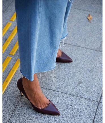 Кожаные туфли новые 8 см, 2700 сом,38 размер подойдут 39