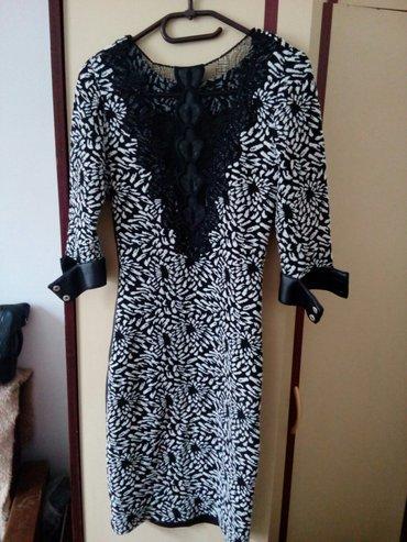 Prelepa haljina sa tri cetvrt rukavima vel 36 - Krusevac - slika 2