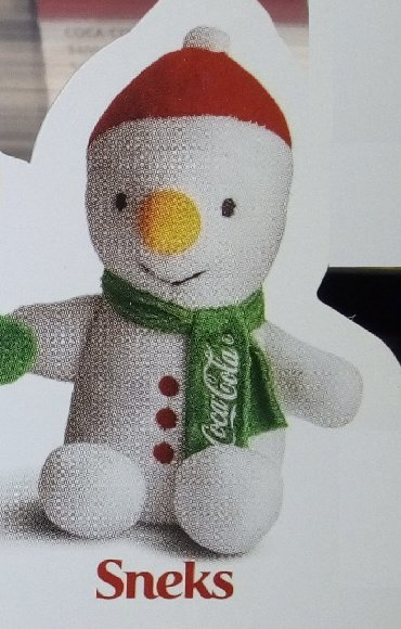 Prilikom - Srbija: Koka Kola Coca Cola plišana igračka Sneks družina LIČNO PREUZIMANJE u
