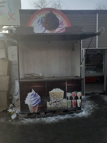 Оборудование для бизнеса в Кара-Балта: Продаю павильон под мороженого