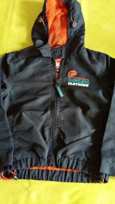 Prelepa prolecna jaknica za dečake vel.3god kupljena u Fr(nosena ali - Petrovac na Mlavi