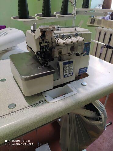 Продается швейная машинка пяти ниткаСостояние новоеЦена договорная