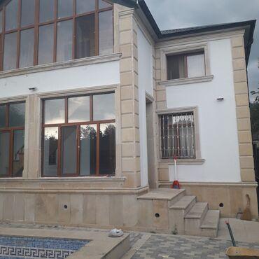 10 elan | DAŞINMAZ ƏMLAK: 200 kv. m, 4 otaqlı, Kombi, Hovuz