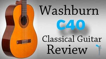 Bakı şəhərində WASHBURN klassik gitara Model: C40