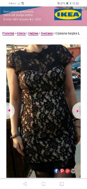 Cipkana haljina L velicine