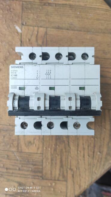 aftomat - Azərbaycan: Elektirik aftomat 3faza 80 manat C100
