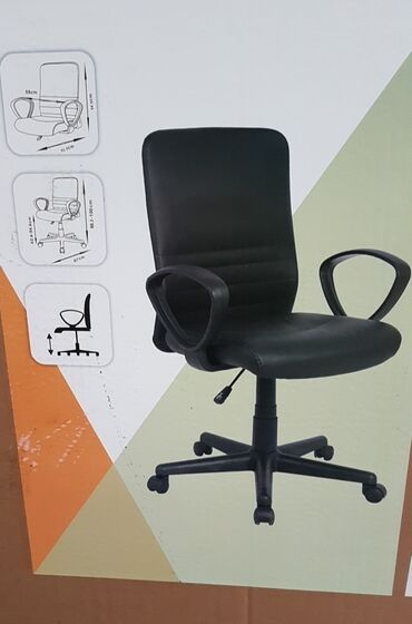 Kancelarijska Kompjuterska Stolica Fotelja!Crna kancelarijska stolica