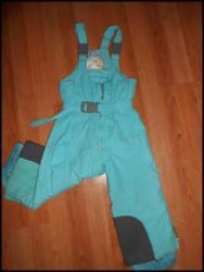 Onell-ski-pantalone-icinecm-besprekornom-su - Srbija: Ski pantalone zelene vel. 3-4