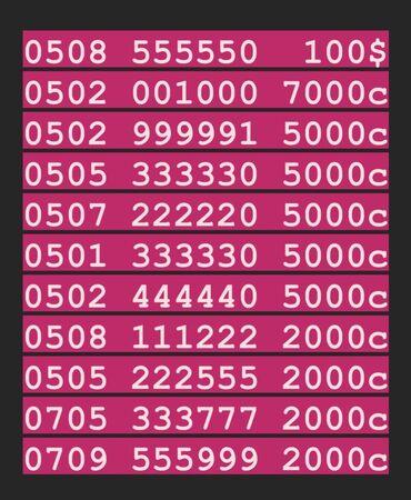 Красивые номера мобильного оператора О!Цены указаны с учётом скидки