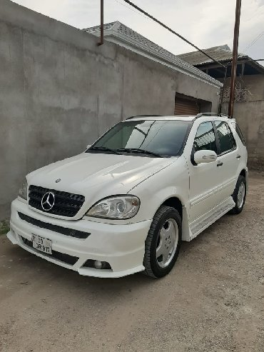 Mercedes-Benz Sumqayıtda: Mercedes-Benz ML 350 3.7 l. 2004 | 198899 km