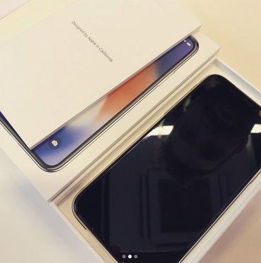 Bakı şəhərində Apple iPhone X - 252GB - Gümüş (AT & T) A1901 (GSM)