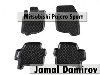 Bakı şəhərində Mitsubishi pajero sport üçün ayaqaltılar, Коврики для mitsubishi