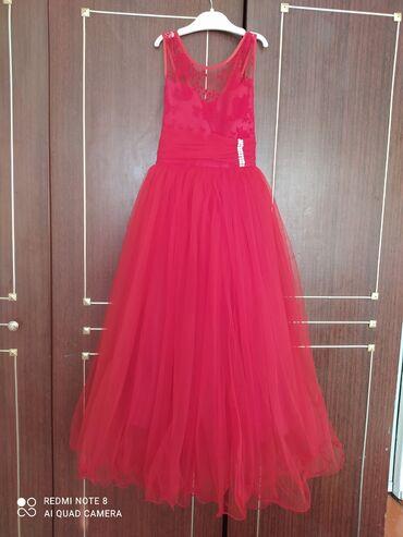 Продаю красивое платье в хорошем состоянии на 7-8лет