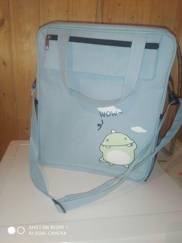 Продаю сумку почти новую. Она отлично подойдёт для тетрадей и