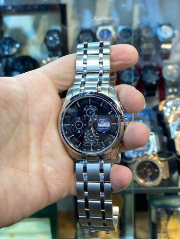 Mağaza vitrinleri - Азербайджан: Серебристые Мужские Наручные часы Tissot