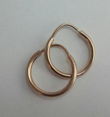 Серьги кольца из красного золота 585 проба. в Бишкек