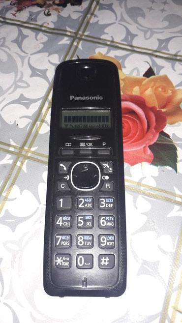 Elektronika Qaxda: Panasonic ev telefoni radio telefon 300 metr mesafede tutus gabilieti