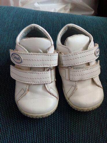 Dečija odeća i obuća - Razanj: Br.19,kao nove,za prohodavanje