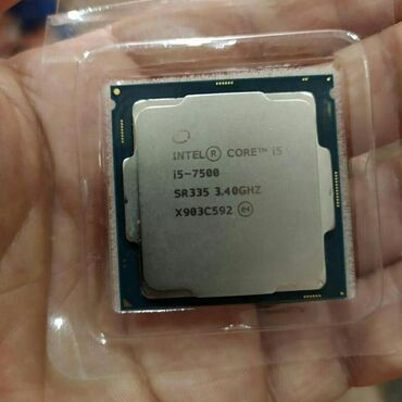 Продаю процессор I5 7500   CPU Intel Core i5-7500 3.0-3.5GHz,6MB Cache