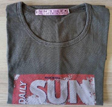 Kozni-kajis-sa-bodljama-duzine-cm - Srbija: Muška maslinasto zelena majica sa printom, veličina XXLMuška