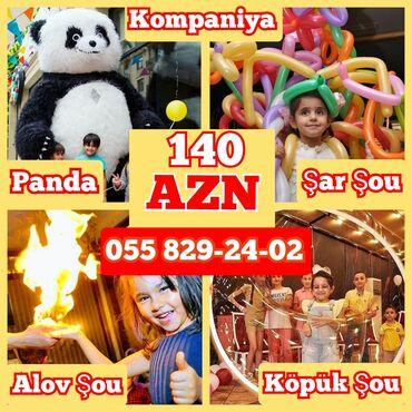 panda sou - Azərbaycan: Tədbirlərin təşkili | Şarlar, Alov şou