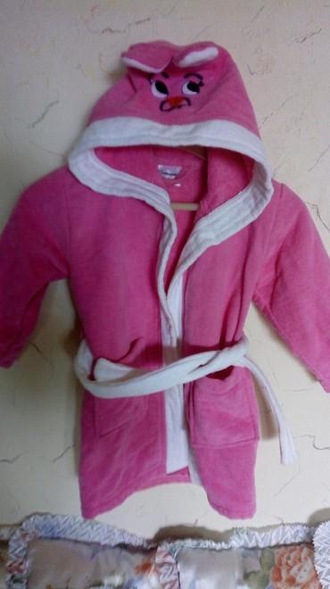 Za decu | Kraljevo: Deciji nov bade mantil frotir. uzrast od 2 do 4g. duz. 53cm. cena