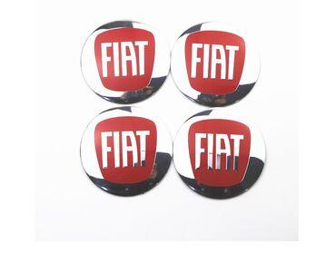 FIAT - plastificirane nalepnice za felne - set od 4 komada. Izuzetna