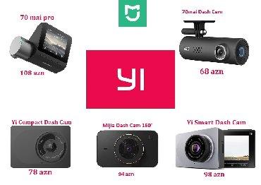 video reqistrator - Azərbaycan: Video Regitsratorlar Xiaomi Yi (yeni)Xiaomi 70 mai - 68aznXiaomi Yi