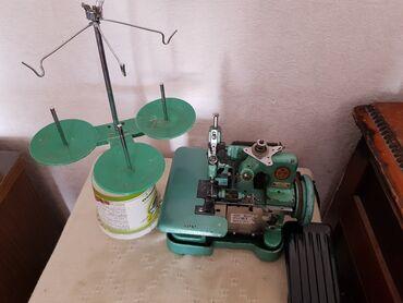 Швейные машины - Сокулук: Продаю оверлок-трехнитка. В рабочем состоянии. За 2.500с. Село