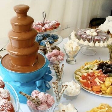 Шоколадный фонтан  Российские и Бельгийские шоколады  Бесплатная доста