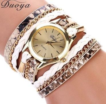 Ženski satovi narukvice Boje kao sa slike: crna, plava, braon, zlatna, - Nis - slika 7