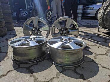 купить диски для машины в Кыргызстан: Оригинальные диски TOYOTAДиаметр R15 Сверловка 5*100Ширина 6.0j Вылет