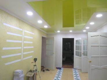 Гипсокартон любых форм.Нарисуем вашу мечту на потолке! в Бишкек