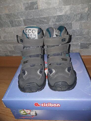 Čizmice za dečaka, poluduboke,vel.27,u.g.16cm, Ciciban, C-tex