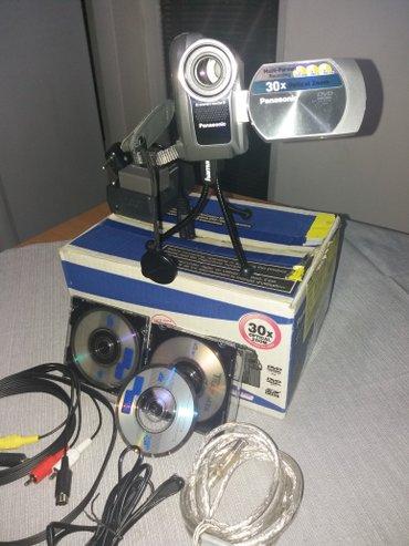 Elektronika - Zrenjanin: Panasonik video kamera u odlicnom stanju i bez vidljivih tragova koris
