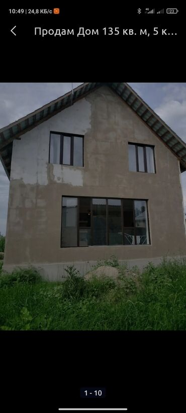 Профнастил 5 метров - Кыргызстан: Продам Дом 110 кв. м, 5 комнат