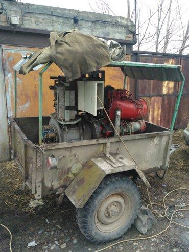Продаю генератор вместе с уазовским в Бишкек