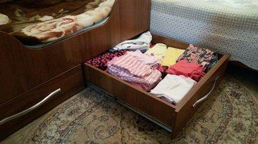 Детская кроватка . размер 80  на 140  Идеальное состояние.  в Бишкек