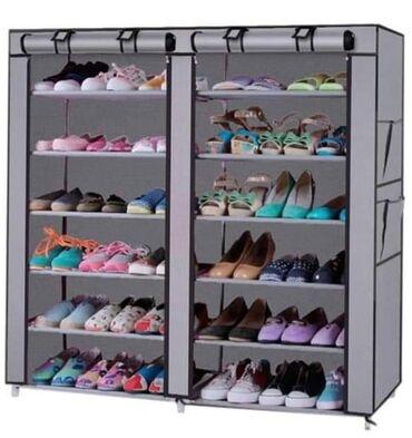 Odeca i obuca - Srbija: VELIKA AKCIJA!! Prenosivi cipelarnik Model 2712 - 118cm x 120cm CENA