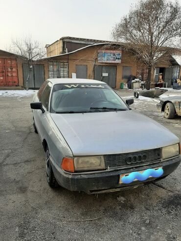 Audi 80 1.8 л. 1986 | 1234 км
