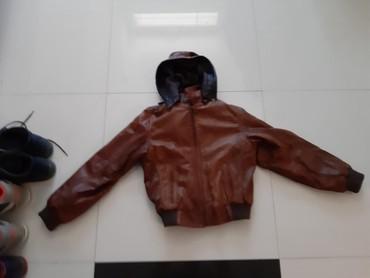 Za decu | Backa Palanka: Kozna jakna kao nova uzrast 6-7 godina bez ostecenja