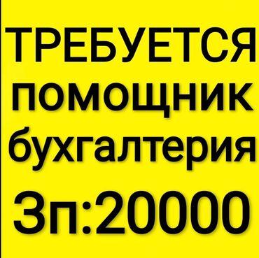 продажа духовок в Кыргызстан: Требуется помощник бухгалтеря!Девушки и парни 18-35 лет с приятной