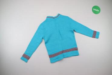 Дитячий светр з візерунком     Довжина: 48 см Ширина плечей: 31 см Рук
