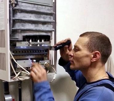 ремонт водонагревателей - Azərbaycan: Gaz kalonkaların remontu. Инженер-электромеханик производит ремонт