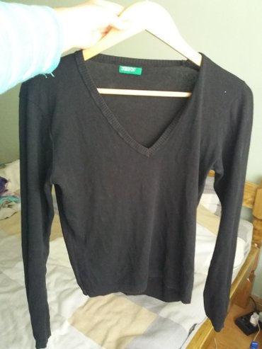 Crna majica dugih rukava - Ruski Krstur