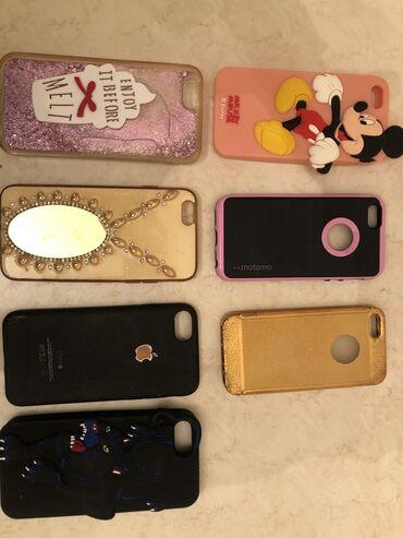 чехол iphone силикон в Азербайджан: Iphone 5,6 telefon kaburalari. Hamisi birlikde 20 manat