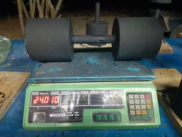 İdman və istirahət Xırdalanda: 24 kiloluq 1cüt qantel-85 manat,(dəmirdəndi, beton deyil), mal