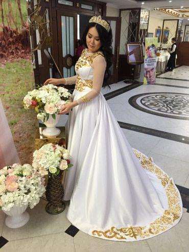 r 44 46 в Кыргызстан: Платье на Кыз Узатуу. Продается. Размер 44-46.Подробности по вотс ап