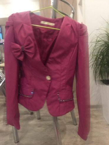 Новая куртка зам. Кожа можно одеть в Бишкек