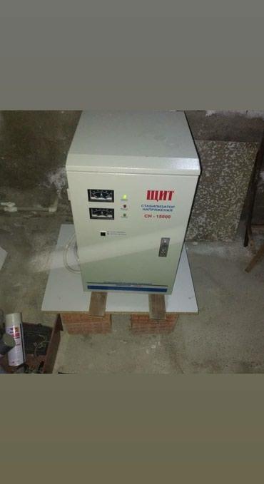 Xırdalan şəhərində 15 kw.lıq stabilizator satıram təzədir. 30kw.lıq satılanlardan